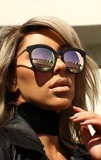 NEW QUAY X Chrisspy Jet Lag Black/Rose Mirror Sunglasses
