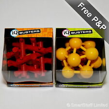 Cheatwell IQ Buster Ball Traps - The Atomiser & Interlocker Large Wooden Puzzles