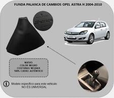 Funda Palanca de Cambios Piel Auténtica Compatible con OPEL ASTRA H 2004-2010