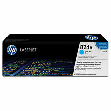 Genuine HP Color 824A Original LaserJet Cyan Toner Cartridge CB381A 6015 6040