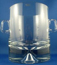 KROSNO Poland HEAVY CRYSTAL ART GLASS Modern Petite Ice Bucket - In Australia