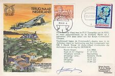 Rare ES25aAHZ 31 V111 79 Gorssell Escape in Heinkel 111 Netherlands Signed extra