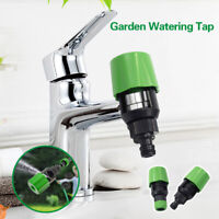 Kitchen Garden Watering Tap Hose Pipe Connector Rounds Square Mixer Taps Adaptor