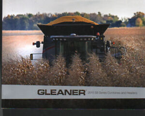 """AGCO Gleaner 2015 """"S8 Series"""" Combine and Headers Brochure Leaflet"""