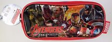 Marvel Avengers Assemble Age Of Ultron 3 Compartment Pencil Case NWT FREE SHIPNG
