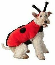 Dog ~ LADYBUG  ~ Halloween Costume ~ L Large `~ NEW