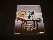 LEMONY SNICKET'S A SERIES OF UNFORTUNATE EVENTS Oscar ad & THE POLAR EXPRESS