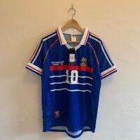 France National Team Jersey World Cup 1998 Final Size Medium Zidane