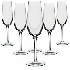 Crystal Champagne Flutes