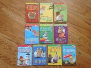 Lot 10 The World According to HUMPHREY Chapter Books PB by Birney HAMSTER ~ VGC