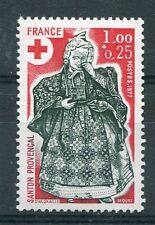 FRANCE 1977 timbre 1960, CROIX ROUGE, SANTONS, GUERISSEUSE, neuf** MNH RED CROSS
