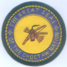 Choctaw Nation City Town Municipal Office Uniform Seal Arms Crest Indian Tribe