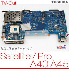 Motherboard toshiba satellite a40 a45 p000396060 a5a000979040 placa base OVP 010