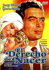 EL DERECHO DE NACER 1952 DVD EN ESPAÑOL