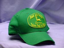 JOHN DEERE  BAD ASS BOYS DRIVE BAD ASS TOYS ADULT CAP, NEW