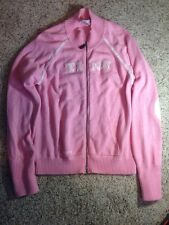 Disney World Disneyland Tink Pink Zippered Sweater Womans Size XXL. ked