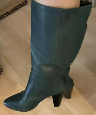 RIVER ISLAND Green Boots Size 5 (RTP £95) Very Good Condition