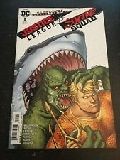 Justice League Vs Suicide Squad#5 Incredible Condition 9.4(2017) Conner Cover