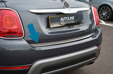 Chrome Rear Door Tailgate Trim Strip Cover To Fit Fiat 500X (2014+)