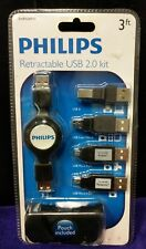 Philips SWR1249/17, Retractable USB 2.0 Adapter Kit