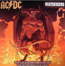 "AC/DC ""Heatseekers"" The Legendary Broadcast - 2017 New Clear Vinyl  Lp"
