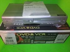 Emerson EWD2004 DVD VHS Combo Player & VCR Recorder WORKS GREAT with manual