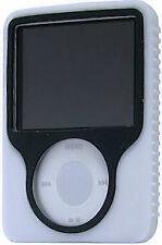 Tough Silicone Skin Case for 3rd Generation iPod Nano (White)