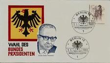 Berlin Brief MiNr 331 Berliner des 19. Jahrhunderts -Sonderstempel 5.3.1969-