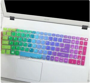 15.6 Inches Protective Silicone Laptop Keyboard Compatible With Acer Aspire
