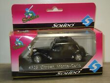 Citroen Traction Monte-Carlo - Solido 1:43 in Box *40885