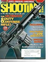 Shooting Times Gun Reviews July 2003 The Ultimate Duty and Defense Rifle, Nosler