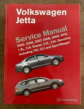 Volkswagen Golf Jetta (A5) MK5 2005 - 2010 Service Manual: diesel and gas-AS NEW