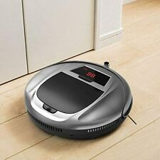 Large Suction Smart Household Vacuum Cleaner Hoover Robot w/ Remote Control NEW
