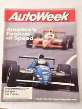 Autoweek Magazine Eddie Cheever 82nd Indy 500 June 1, 1998 020617RH