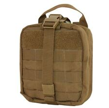 CONDOR MOLLE Modular Tactical EMT Rip-Away MEDIC POUCH ma41-498 COYOTE BROWN