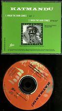 Katmandu When The Rain Comes Promo CD Single Fastway singer