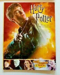 Album Figurine Panini Harry Potter e Il Principe Mezzosangue VUOTO