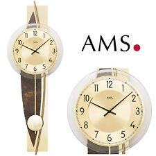 AMS 50 Wanduhr Quarzpendeluhr Pendeluhr Wohnzimmeruhr 160