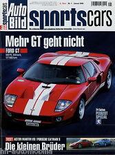 Auto Bild Sports Cars 1 06 2006 Väth SLK Abt Leon Brabus U500 Edo GT2R Alpina D3