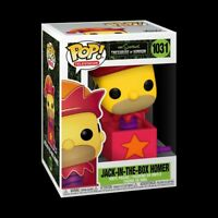 NEW! Funko POP! Simpsons Treehouse of Horror Jack-In-The-Box Homer - SHIPS FREE!