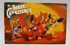 WDCC Disney Post Card Three Caballeros Donald Duck Panchito Jose Carioca 4 x 6