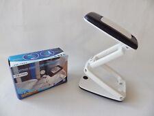 Folding Desktop 3X Magnifier LED Compact Craft Desk Lamp Light Genuine UK SELLER
