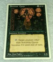 Sorceress Queen   4th Edition   MTG Magic the Gathering LP