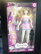 Bandai Harumika Mannequin doll with accessories New in Box Barbie related #30396