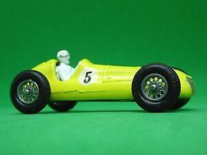Matchbox Lesney No.52a Maserati 4CLT Racing Car (RARE RACING No.5 DECALS)