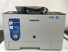 Samsung Xpress C1810W Workgroup Wi-fi Color Laser Printer w/ Toner & USB Cable