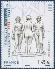 TIMBRE FRANCE AUTOADHESIF 2011 N° 0634 NEUF** Les 3 nymphes d'Aristide Maillol