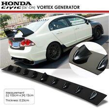 New JDM Honda Civic 8th Gen 06 ON Glossy Black Vortex Generator Spoiler