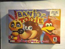 Banjo-Tooie (Nintendo 64 N64, 2000) BRAND NEW FACTORY SEALED