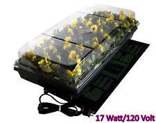 Mat Heat Germination Seedling Plant Seed Tray Cell Dome Station Hydrofarm Pad